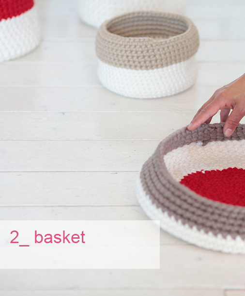 basket cesti contenitori desartcasa wool knitting home decor accessories